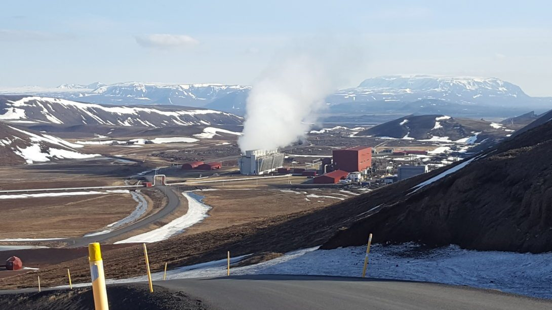 Image 2: The Krafla Geothermal Power Plant